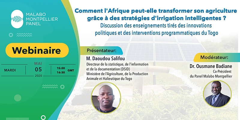 Togolese experience in Irrigation Development